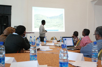 Support on monitoring and evaluation