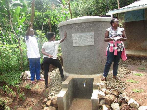 Kapchorwa district is getting prepared for effective use of rain water