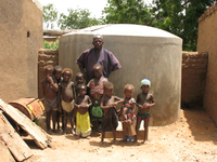 Safe water supply for Modbaré, Burkina Faso