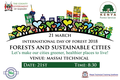 """Forests and Sustainable Cities"""