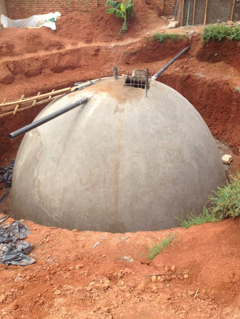 Progress on construction of rain water harvesting systems